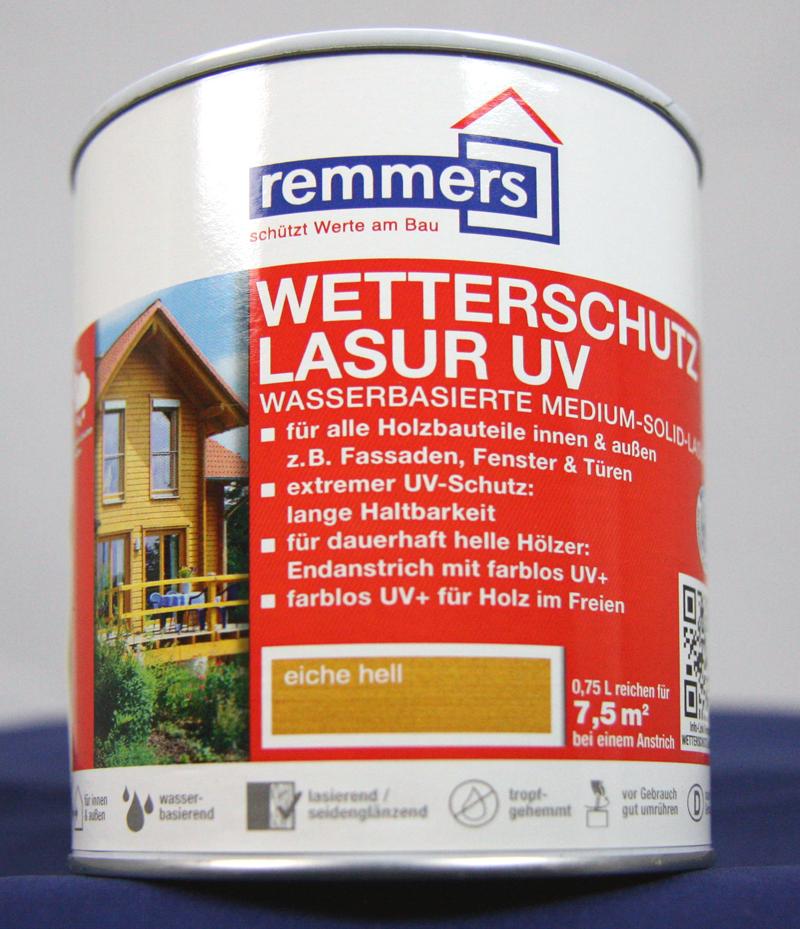 remmers wetterschutz lasur uv eiche hell 2 5l. Black Bedroom Furniture Sets. Home Design Ideas