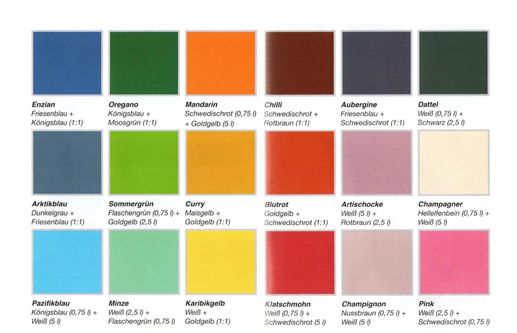 Deckfarbe mischtabelle holzschutz genial - Farben mischen tabelle ...