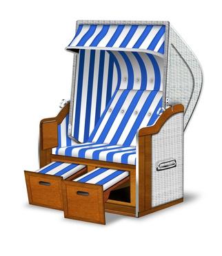 Beliebt Bevorzugt Strandkörbe vor Witterungseinflüssen schützen | Holzschutz Genial #ZA_88